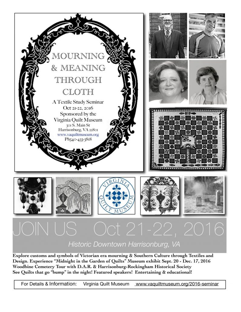 Mourning And Meaning Through Cloth Seminar The Community Foundation