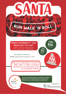 Santa Run, Walk, 'N Roll @ The Friendly City Food Co-op